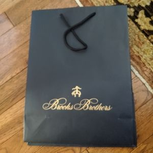 Brooks Brothers empty paper bag